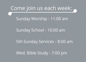 Mt. Olive Service Times